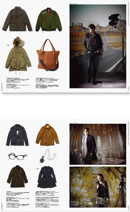 parks 2011w c 1 なんばパークス 2011 Winter Collection