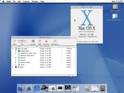 Mac OS X 10.0 cheetah 400x300 Macユーザー必見!OS X シリーズを解説付きでまとめてみました
