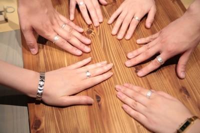 CA6A7924 400x266 ワークショップレポートー銀の端材で作る和柄の指輪ー