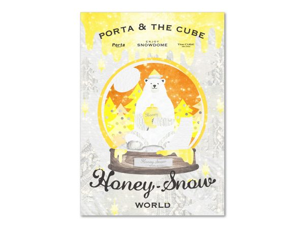 PORTA & THE CUBE Honey Snow World