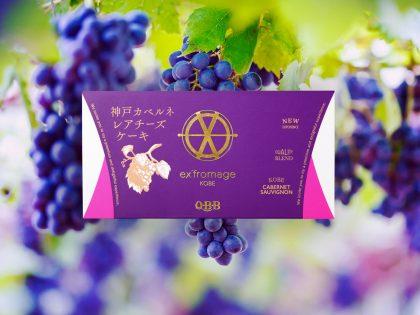 QBB  ex'f romage KOBE 神戸カベルネレアチーズケーキ